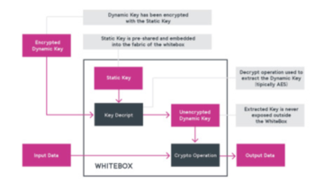 Dynamic WhiteBox to protect cryptographic keys