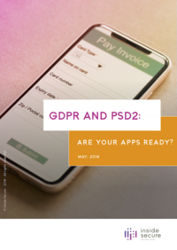 GDPR and PSD2 white paper