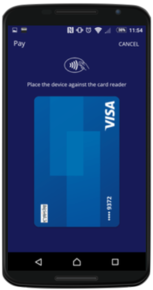 URWallet Mobile Payment Wallet interface